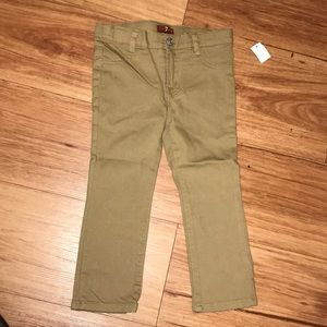 7 Mankind denim jeans stretch adjustable waist tan